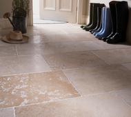 Dijon Limestone Hallway
