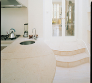 Banc Neuf Fossil Worktop and Steps
