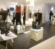 Philip Lim Harrods - Plinths & Reception desk in luxury marbles
