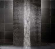 Basalt Stone Wet Room