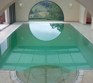 Rapolano Travertine Swimming Pool